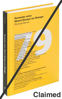 "Seventy-nine Short Essays on Design - image taken from ""New at Pentagram"""