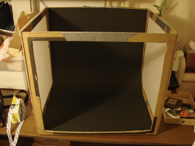 Completed DIY Light Tent
