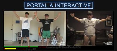 Portal A Multi-Video Player Page