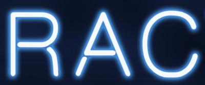 Portal A Neon Text Logo - Detail