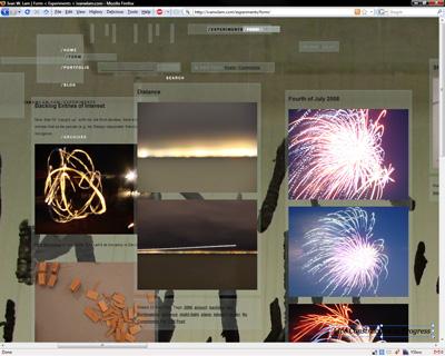 Form Experiments screenshot